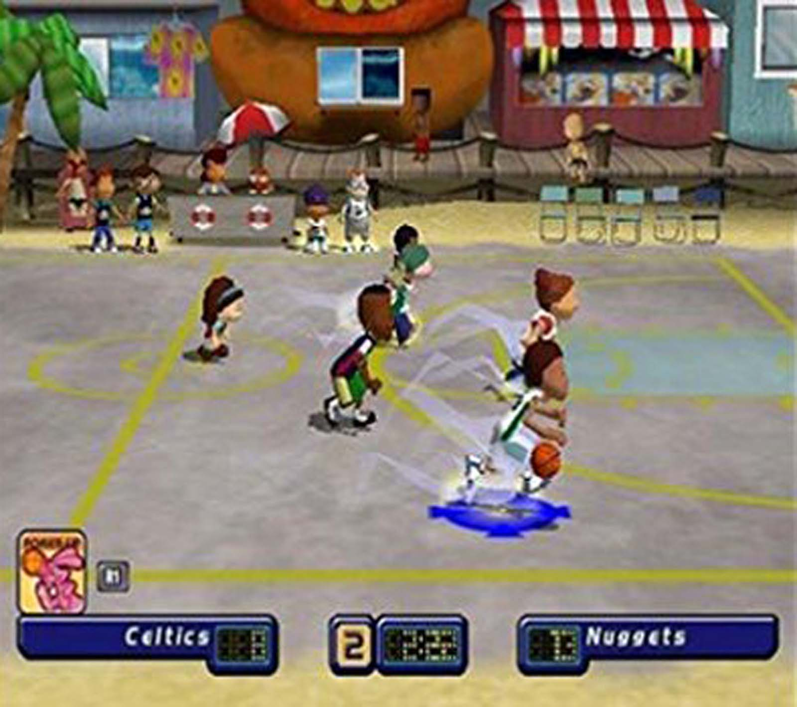 Screenshot Thumbnail / Media File 1 For Backyard Basketball (USA)