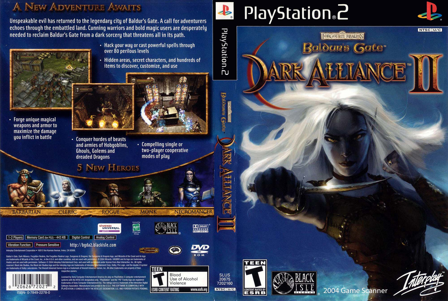 Baldur S Gate Dark Alliance Ii Usa Iso Download Ps2