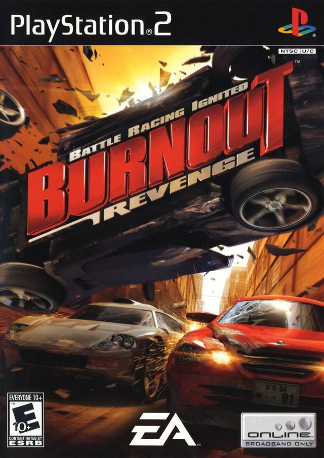 Burnout Revenge Ps2 скачать торрент img-1