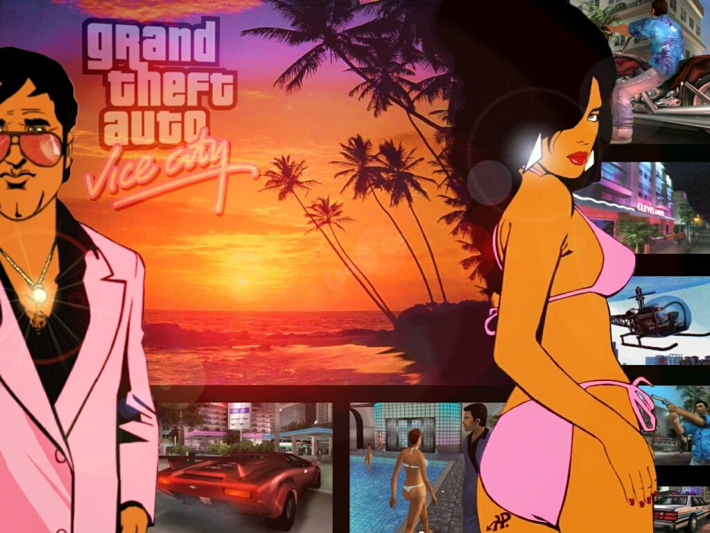 Screenshot thumbnail media file 8 for grand theft auto vice city usa
