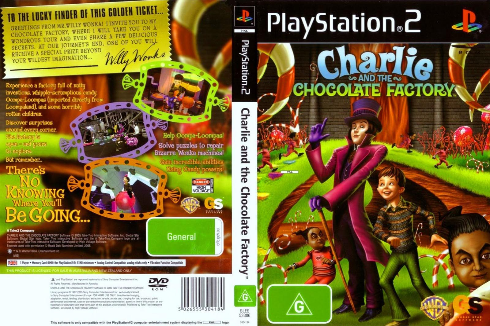 Charlie and the Chocolate Factory (USA) ISO < PS2 ISOs | Emuparadise