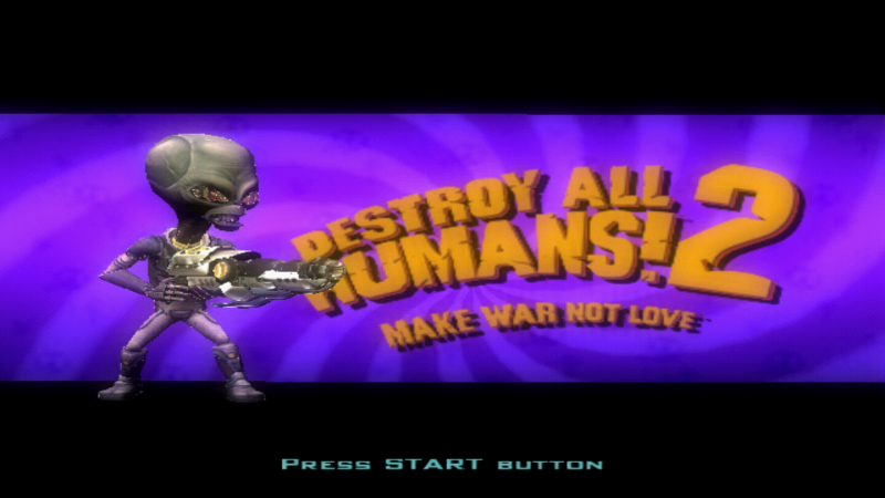 Destroy All Humans! 2 (USA) ISO < PS2 ISOs | Emuparadise