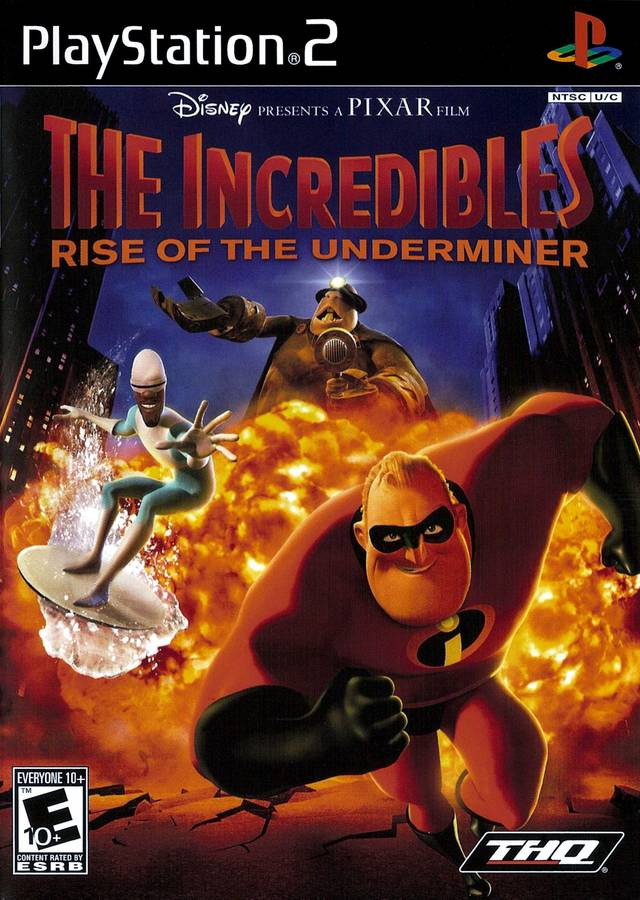 Disney Pixar The Incredibles Rise Of The Underminer Usa