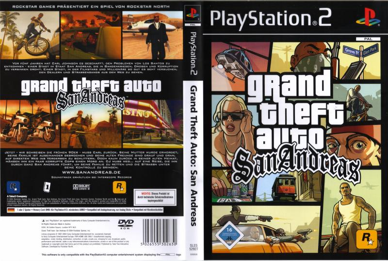 Grand Theft Auto - San Andreas (USA) (v3 00) ISO < PS2 ISOs