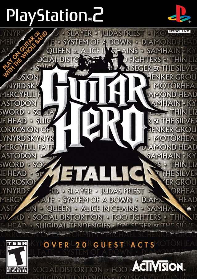 Guitar Hero - Metallica (USA) ISO < PS2 ISOs | Emuparadise