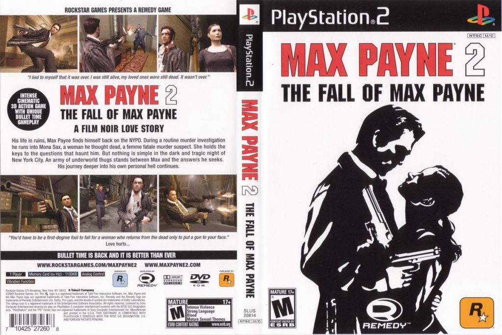 Max Payne 2 - The Fall of Max Payne (USA) ISO < PS2 ISOs