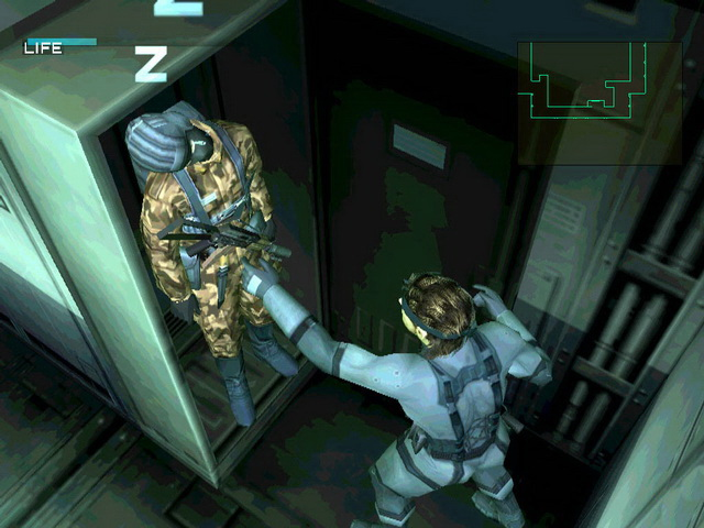 Metal Gear Solid 2 - Sons of Liberty (USA) ISO < PS2 ISOs