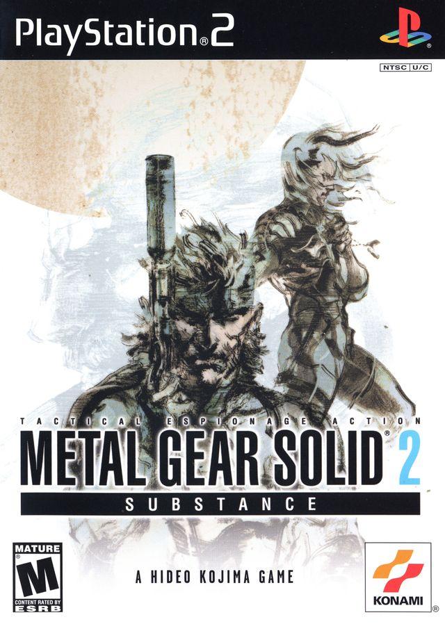 скачать игру metal gear solid 2 через торрент на ps2