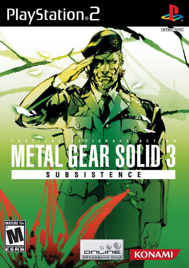 скачать игру Metal Gear Solid 3 на Ps2 img-1