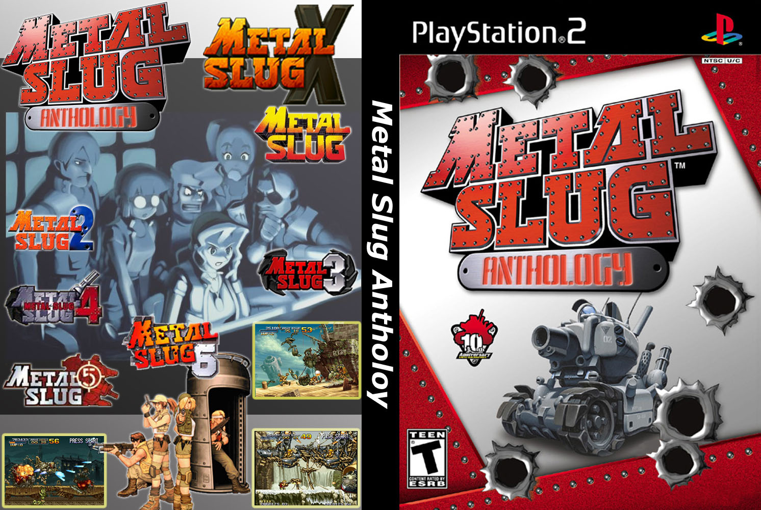 Metal Slug Anthology (USA) ISO