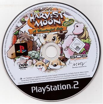 Harvest Moon A Wonderful Life Special Edition Usa Iso Ps2