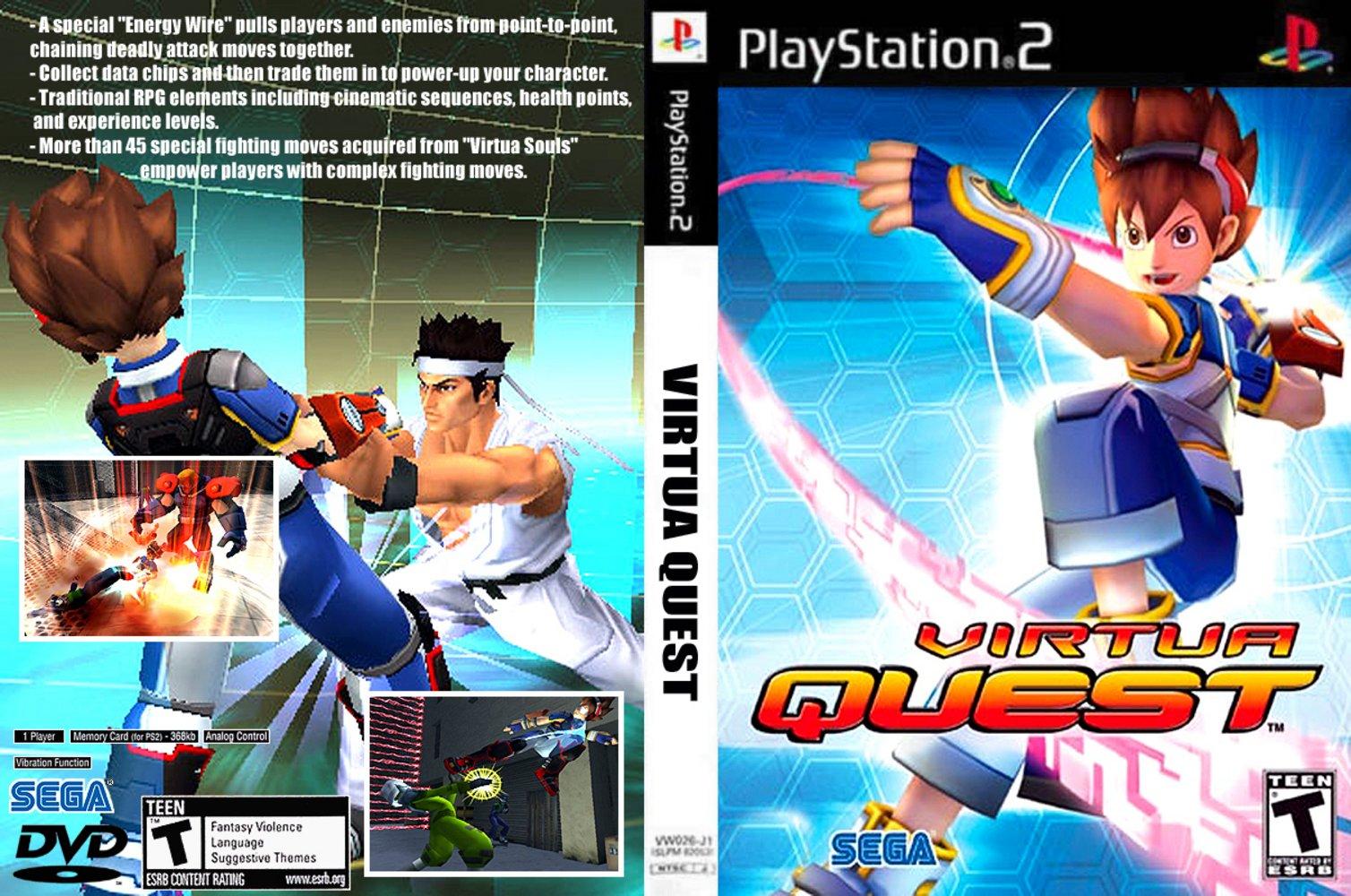 Virtua Quest (USA) ISO < PS2 ISOs | Emuparadise