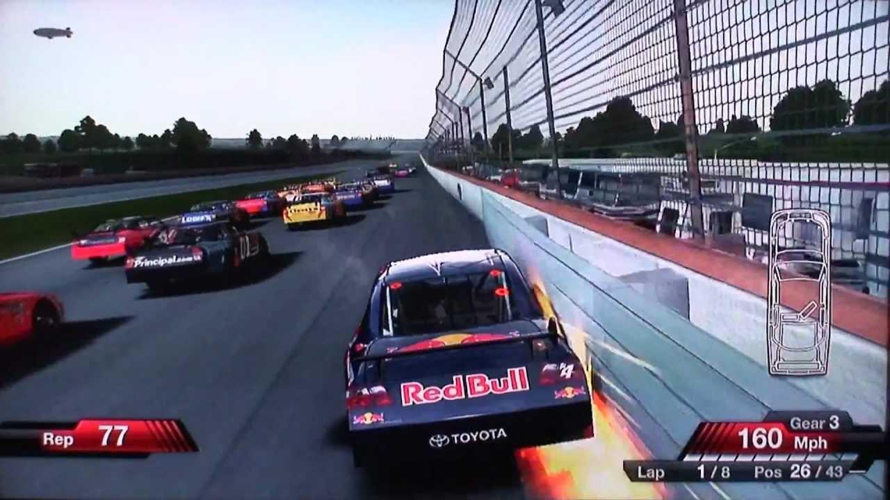 NASCAR 09 (USA) ISO < PS2 ISOs   Emuparadise