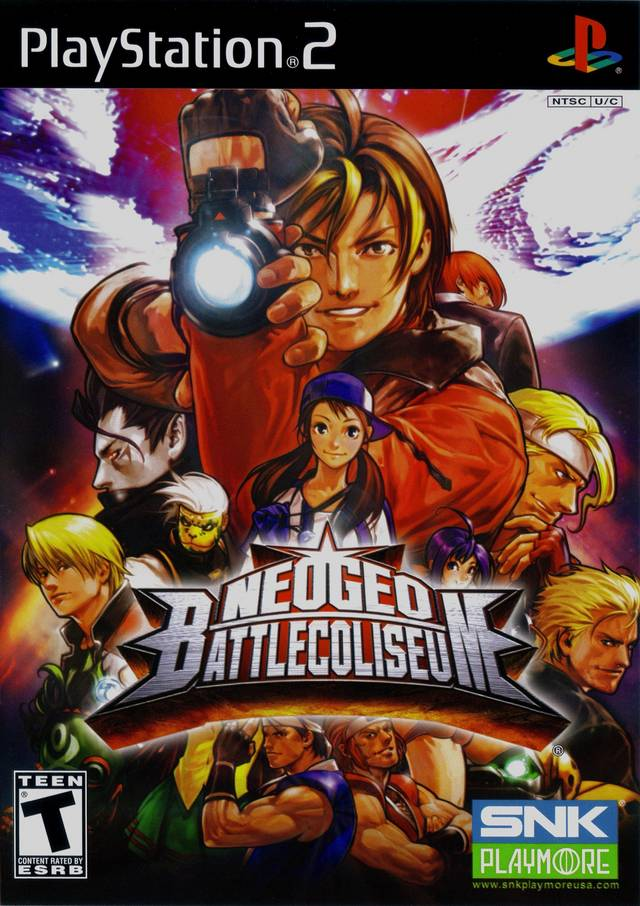 Neogeo Battle Coliseum Usa Iso Ps2 Isos Emuparadise