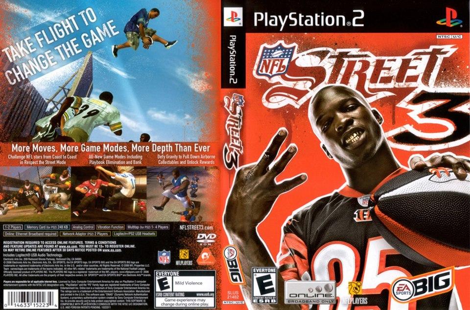 NFL Street 3 USA ISO