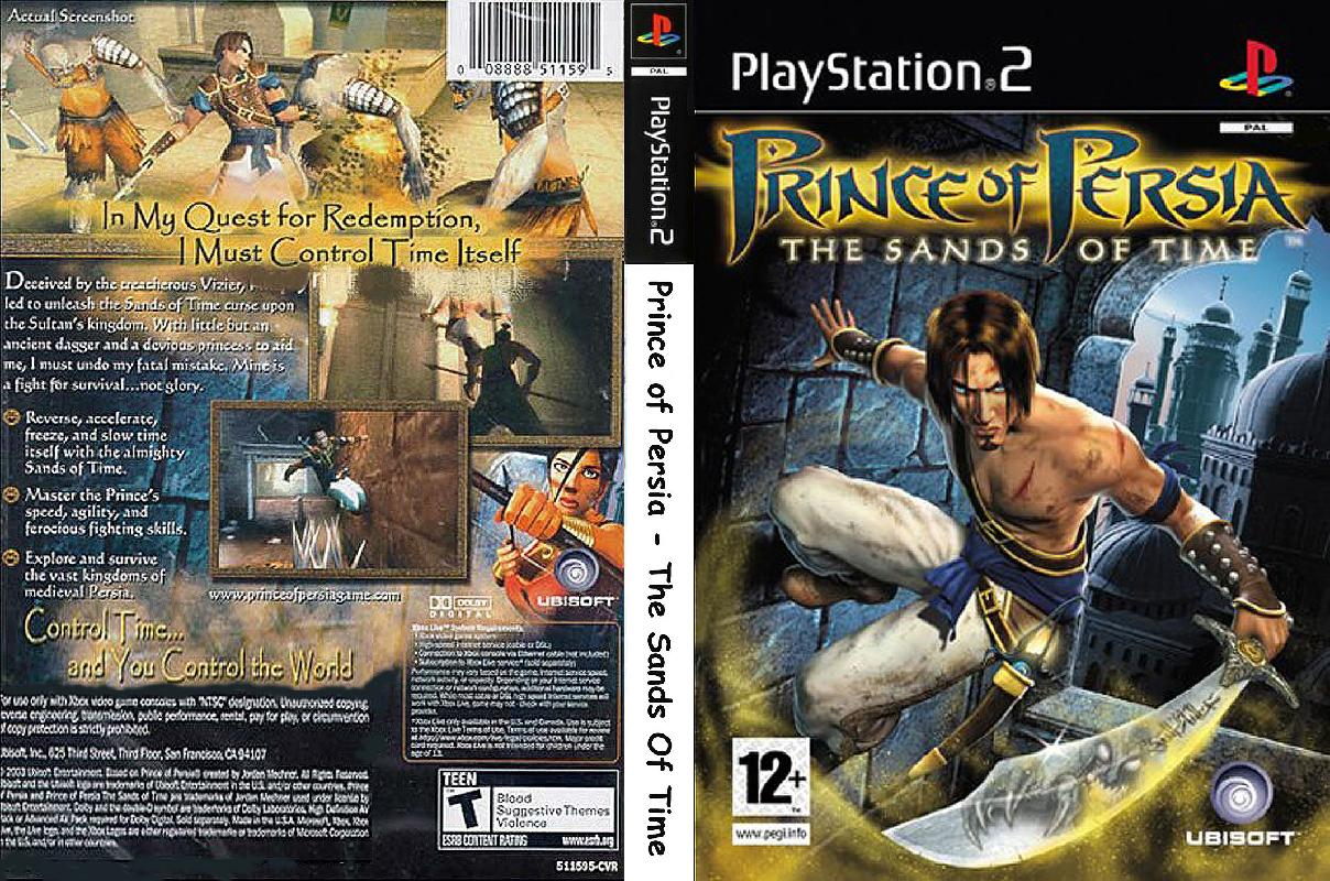 Prince Of Persia The Sands Of Time Usa En Fr Es Iso Ps2 Isos Emuparadise