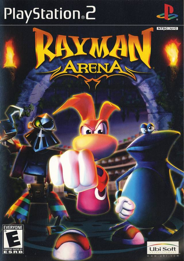 Rayman Arena (USA) ISO < PS2 ISOs | Emuparadise
