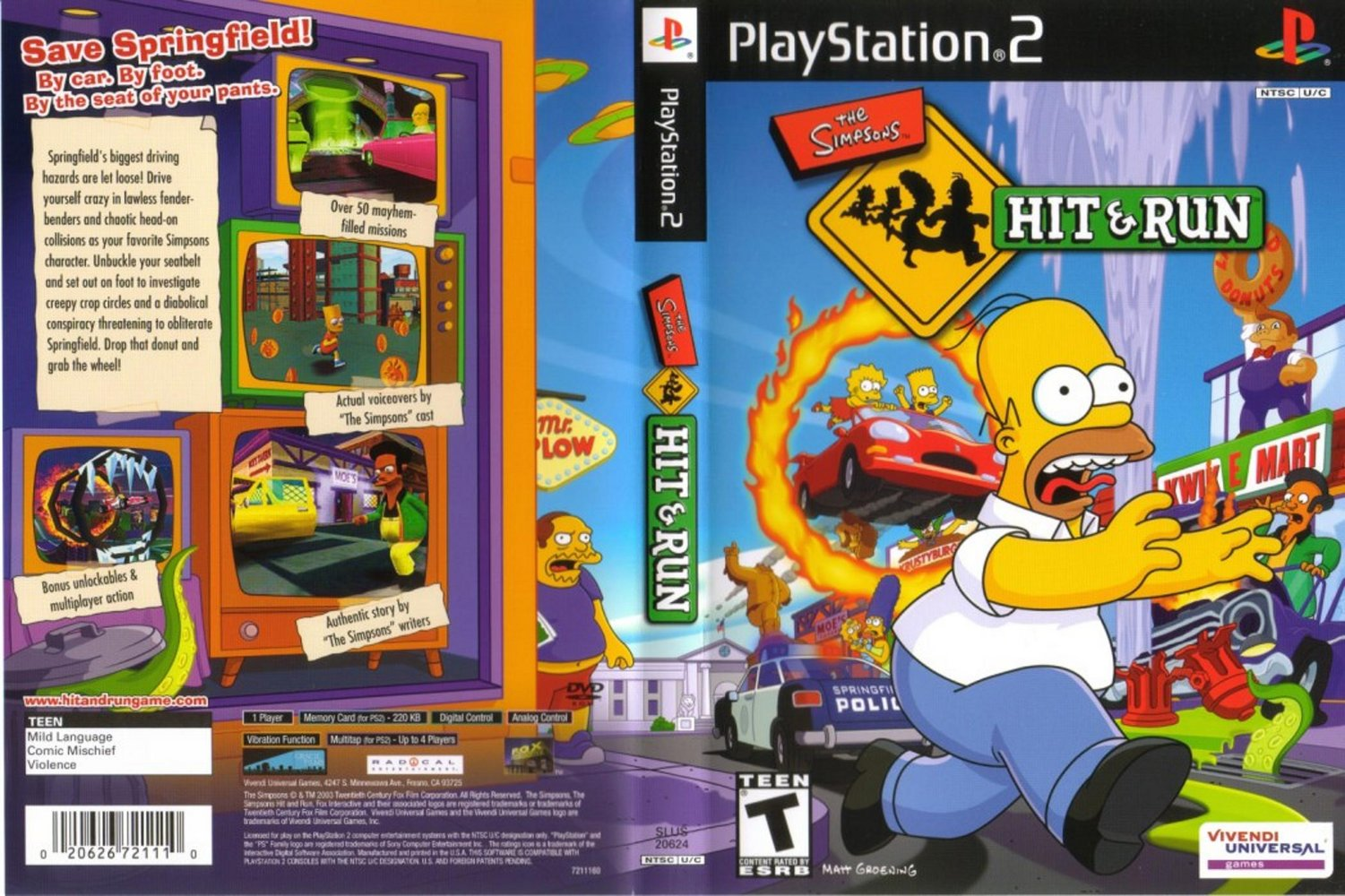 buy simpsons hit and run pc download