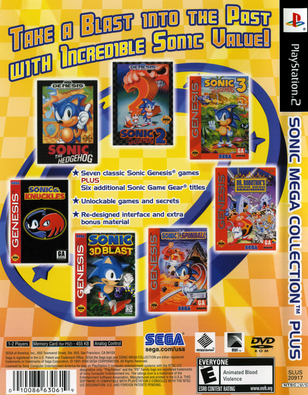 Sonic Mega Collection Plus (USA) ISO < PS2 ISOs | Emuparadise