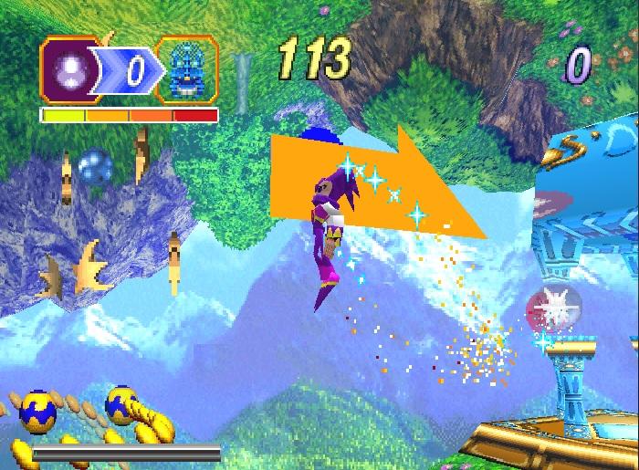 NiGHTS into Dreams    (Japan) ISO < PS2 ISOs | Emuparadise