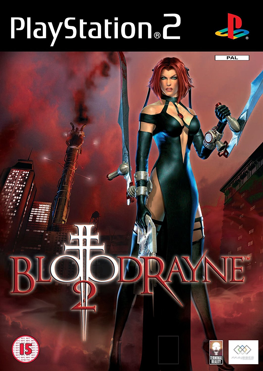 bloodrayne 2 ps2 iso