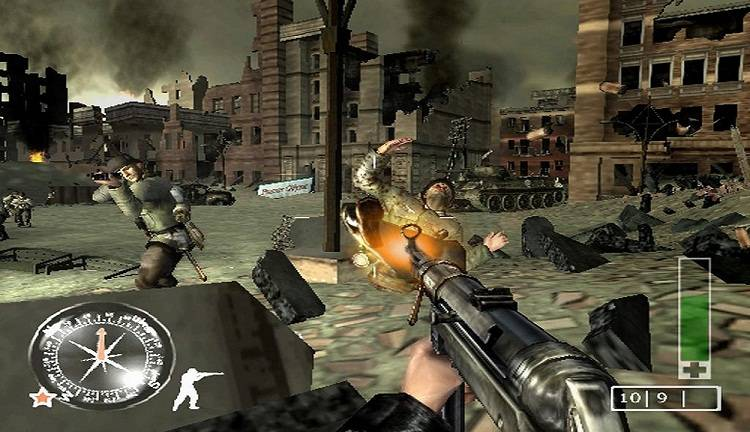 Call Of Duty Finest Hour Europe Fr Es It Iso Ps2 Isos Emuparadise