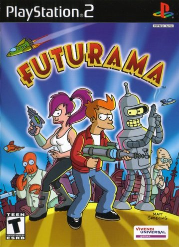 Futurama (Europe) (En,Fr,De,Es,It) ISO < PS2 ISOs | Emuparadise