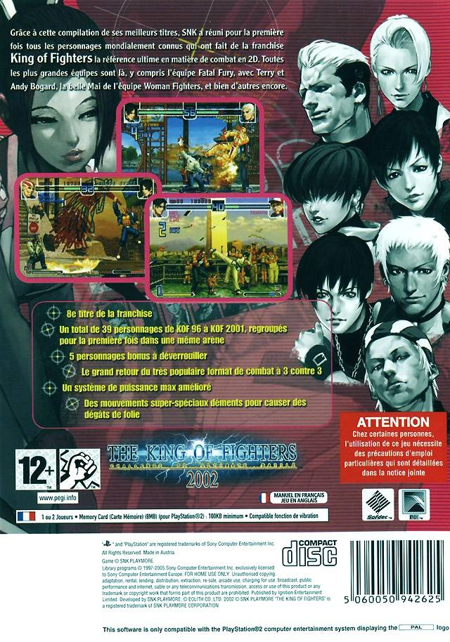 King Of Fighters 2002 The Europe Iso Ps2 Isos Emuparadise