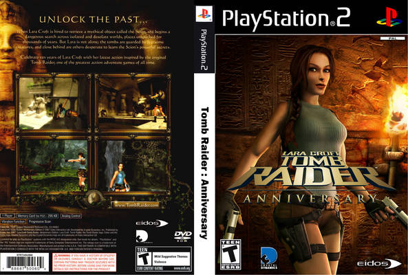 Lara Croft Tomb Raider Anniversary Europe En Fr De Es It Iso Download Ps2 Isos Emuparadise