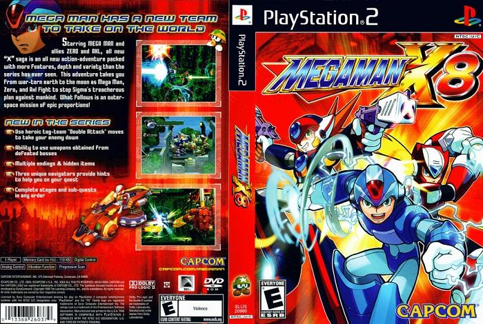 megaman x8 ps2 rom download