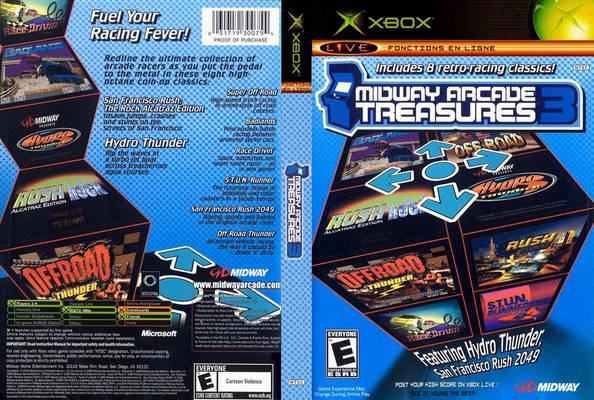 Midway Arcade Treasures 3 (Europe, Australia) ISO