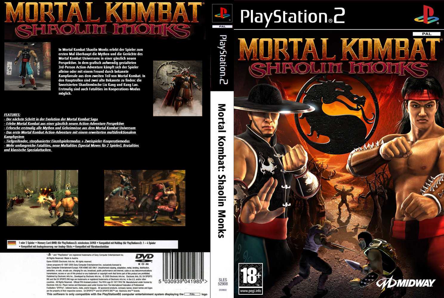 mortal kombat - shaolin monks (europe) (en,fr,de,es,it) iso < ps2