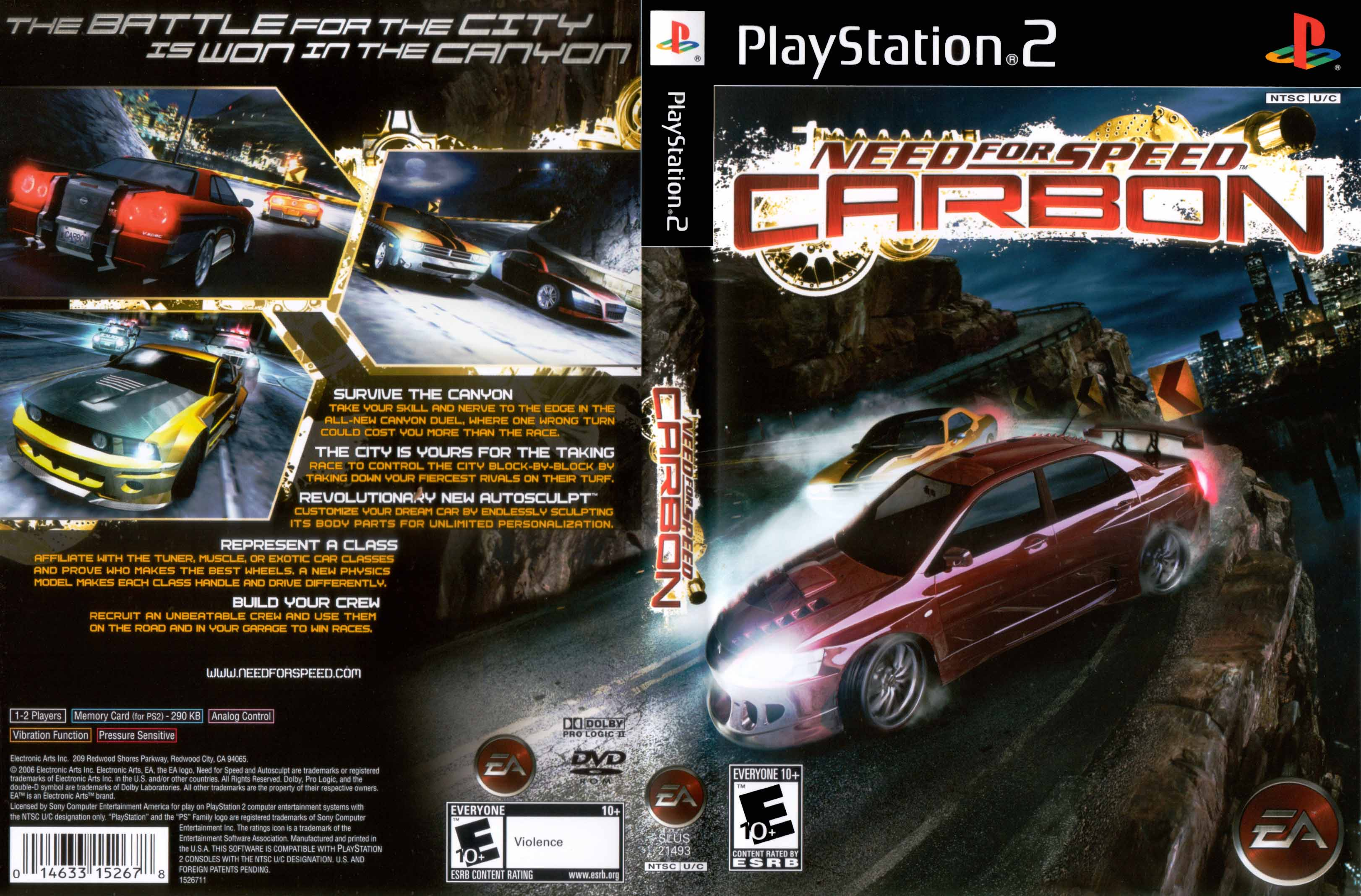 <b>Need</b> <b>For</b> <b>Speed</b> - Underground - Playstation 2(PS2 ISOs) ROM...