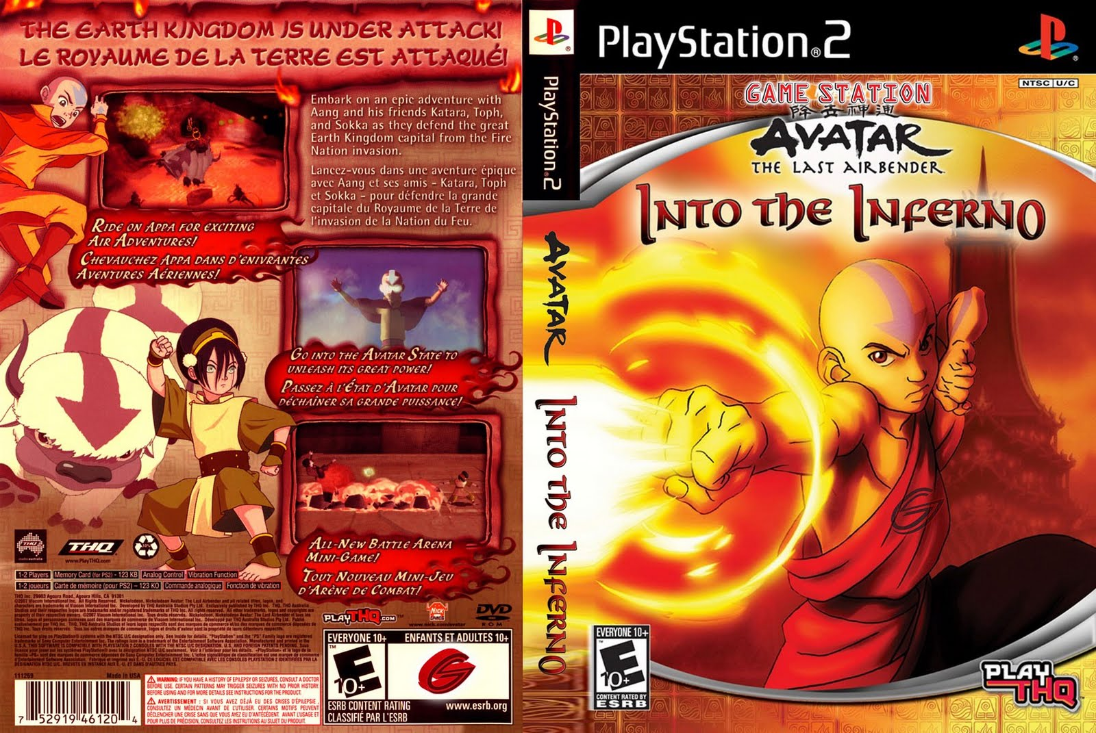 Screenshot Thumbnail / Media File 1 for Nickelodeon Avatar - The Legend of Aang - Into