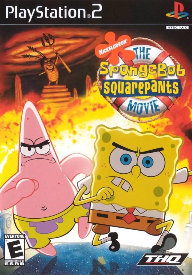 Nickelodeon Spongebob Squarepants The Movie Europe Iso Ps2