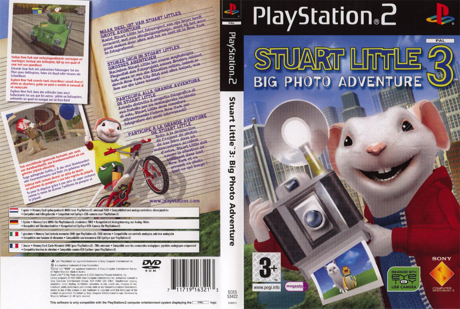 Stuart Little 3 - Big Photo Adventure (Europe) (En,Fr,De,Es,It,Nl,Pt