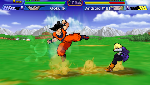 Dragon Ball Z - Shin Budokai (USA) ISO < PSP ISOs | Emuparadise