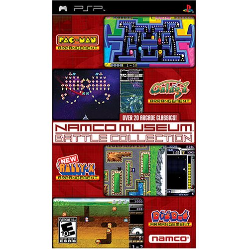 Namco Museum Battle Collection (USA) ISO Download < PSP ISOs