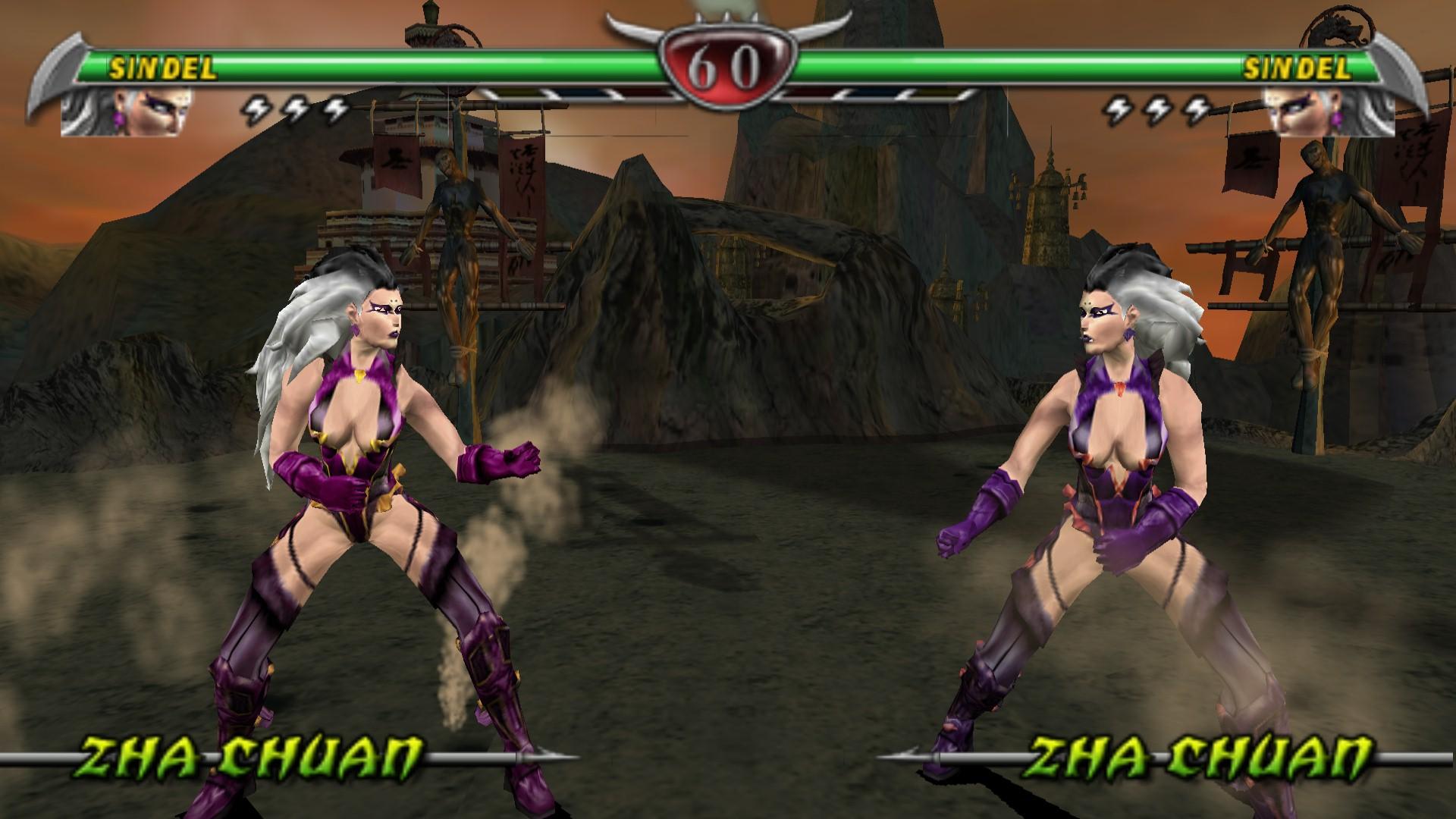 Mortal Kombat - Unchained (Europe) ISO
