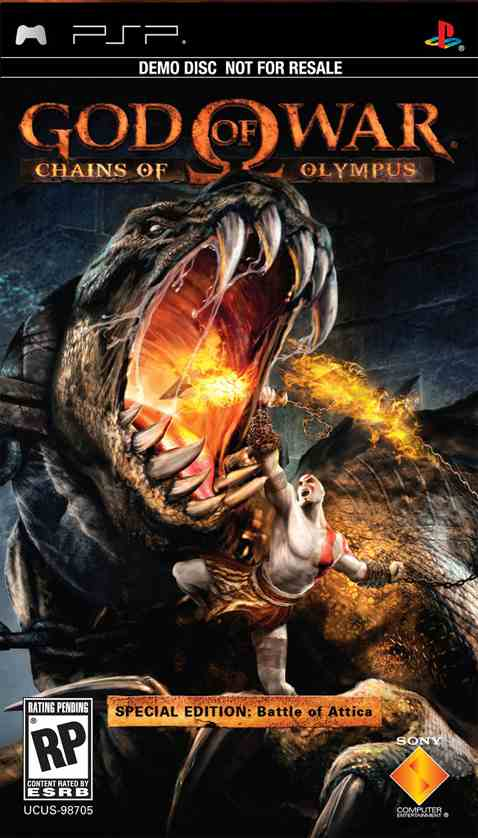God of War - Chains of Olympus (USA) ISO < PSP ISOs