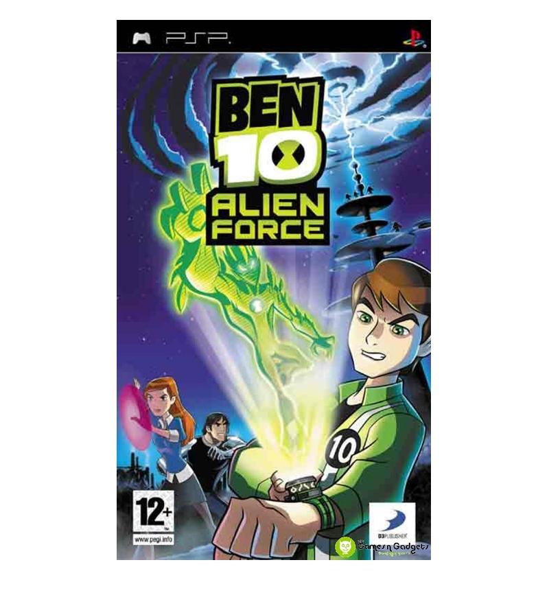 Ben 10 - Alien Force (USA) ISO Download < PSP ISOs | Emuparadise