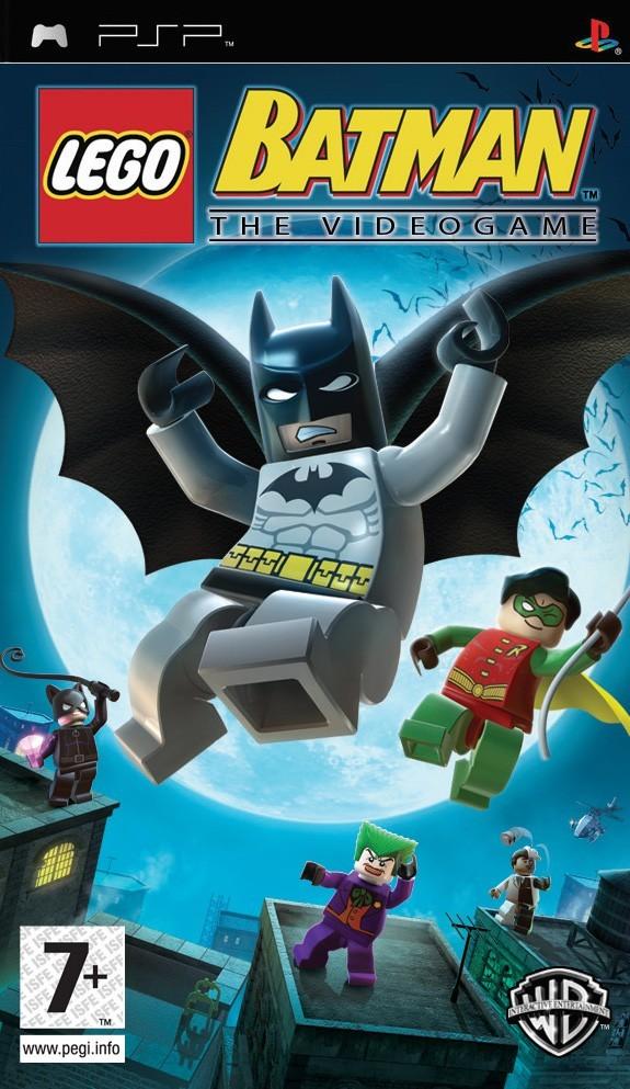 LEGO Batman - The Video Game (Europe) ISO < PSP ISOs   Emuparadise