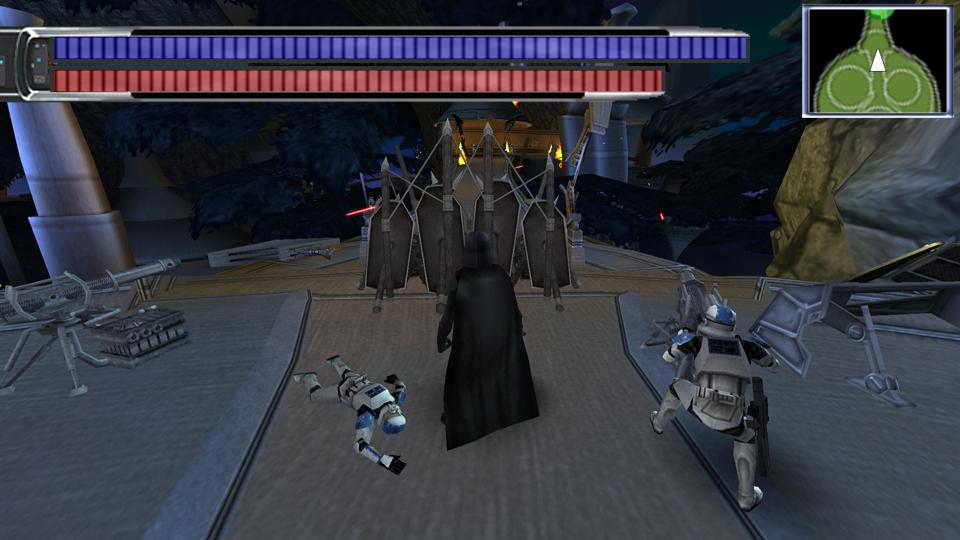 star wars le pouvoir de la force psp cso