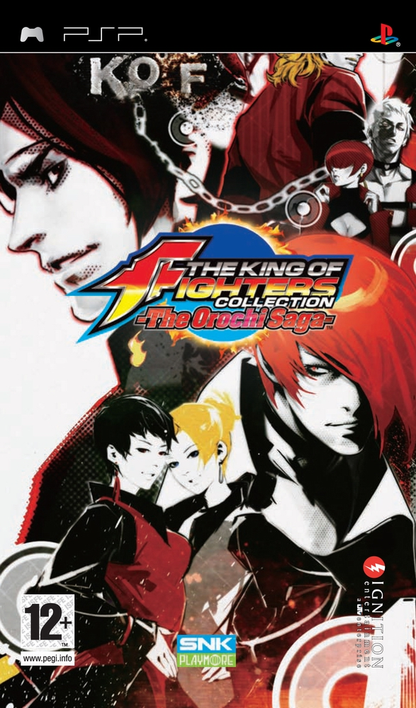 King Of Fighters Collection The Orochi Saga The Europe Iso