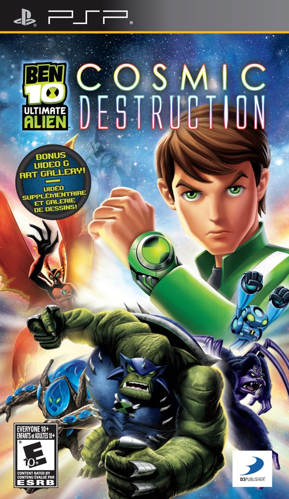 Ben 10 - Ultimate Alien - Cosmic Destruction (USA) ISO