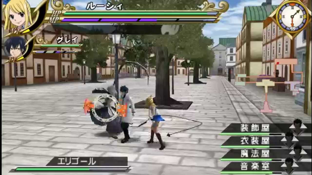 download fairy tail nds rom english