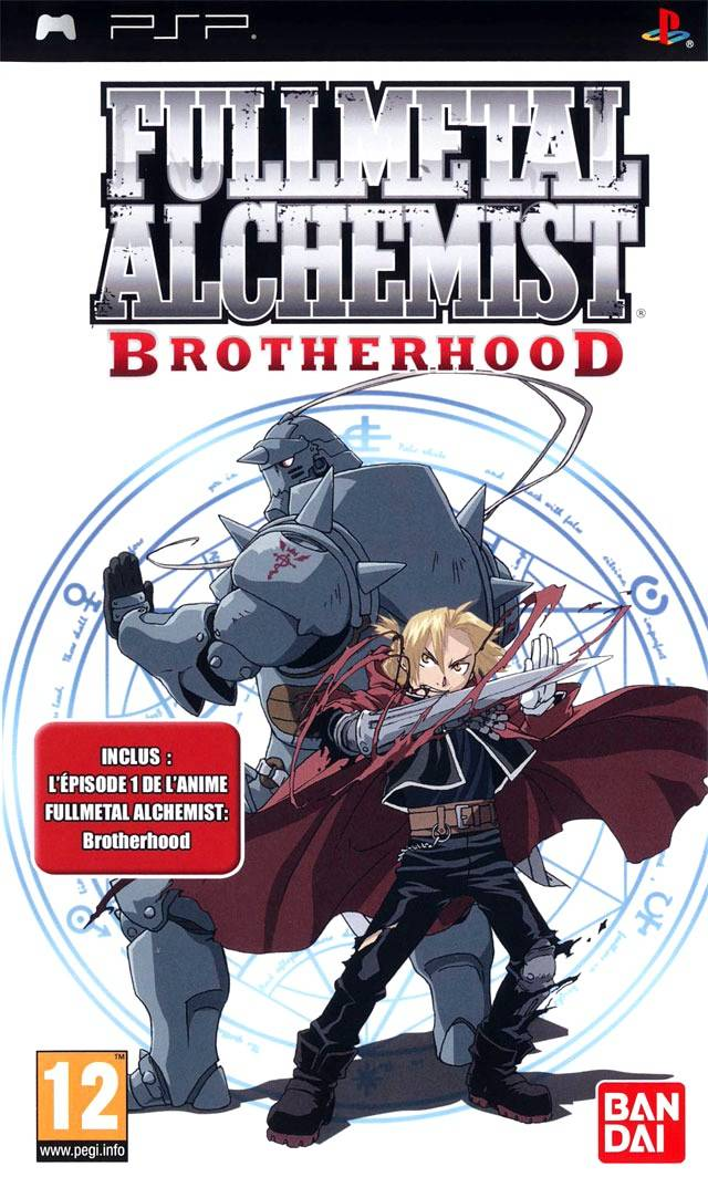 fullmetal alchemist – brotherhood iso
