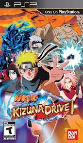 jeux psp naruto shippuden kizuna drive