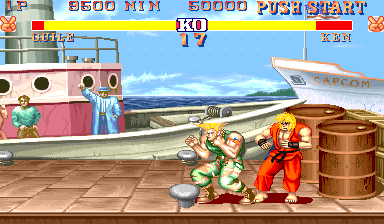 Street Fighter II: The World Warrior (World 910522) ROM < MAME ROMs