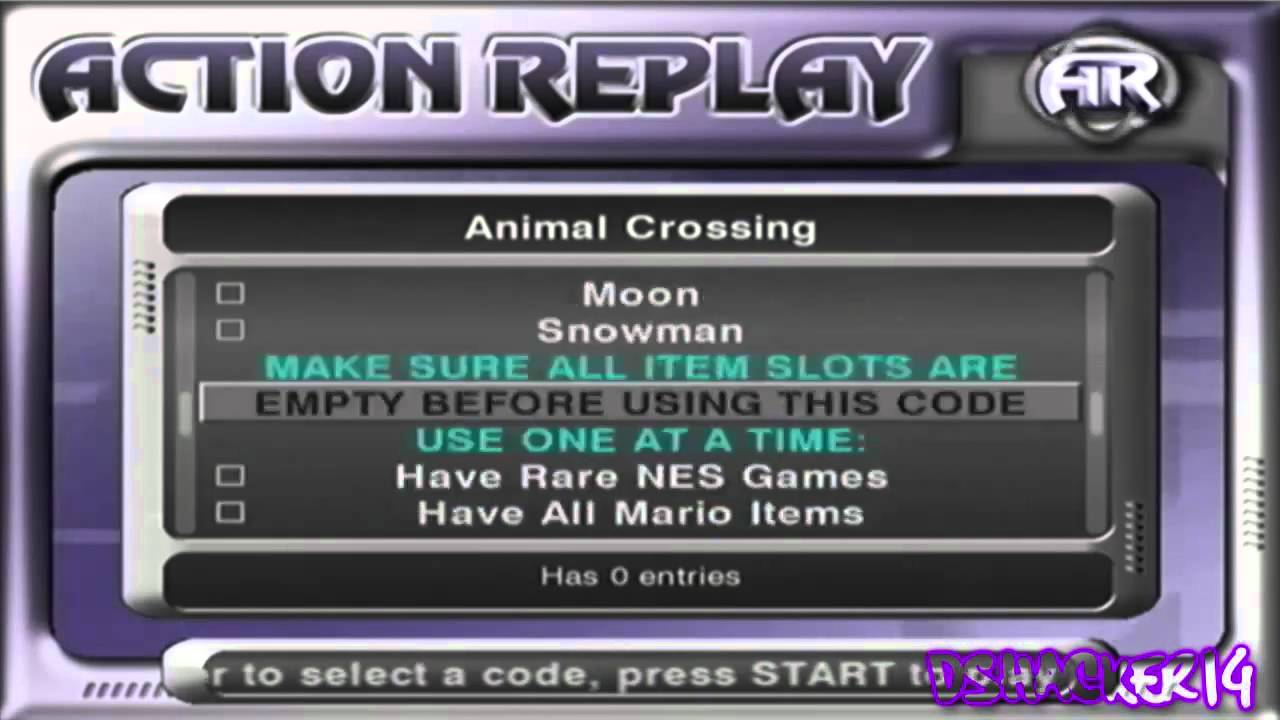 Action Replay Version 1 14b (Europe) ISO < GCN ISOs